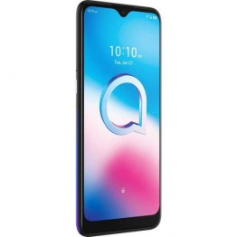 Smartphone Alcatel 3L 2020, Dual Sim, 6.22 Inch HD, Mediatek MT6762 Octa Core, 4 GB RAM, 64 GB, Tri Camera, Android 10, Chameleon Blue