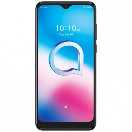 Smartphone Alcatel 3L 2020, Dual Sim, 6.22 Inch HD, Mediatek MT6762 Octa Core, 4 GB RAM, 64 GB, Tri Camera, Android 10, Negru