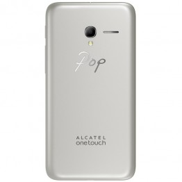 Smartphone Alcatel Pop 3 5065D , Dual Sim , 5 Inch , Quad Core , 1 GB RAM , 8 GB , Retea 4G , Android Lollipop , Argintiu