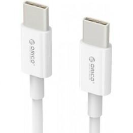 Cablu adaptor Orico USB 2.0 tip C Alb