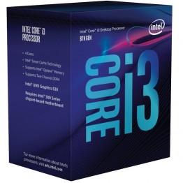 Procesor Intel Core I3 8100 , Coffe Lake , Quad Core , 3.6 Ghz