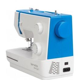 Masina de cusut Bernette Sew & Go 1 , 10 operatiuni , Alb/Albastru