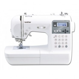 Masina de cusut Brother Innov-Is 55 Fashion Edition , 152 cusaturi , display LCD , Alb