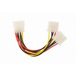Cablu spliter Gembird CC-PSU-1, alimentare, Molex