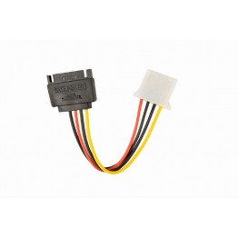Cablu alimentare Gembird CC-SATA-PS, Molex - SATA, 15 cm