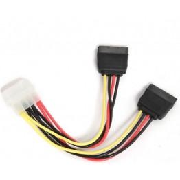 Cablu alimentare Gembird CC-SATA-PSY-0.3M, Molex - SATA x2, 30 cm