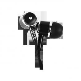 Casti Canyon CNE-CEPM01 , Intraauriculare , cu microfon , 3.5 mm Jack , Negru