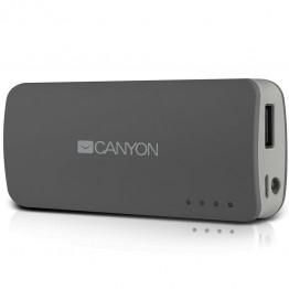 Baterie externa Canyon CNE-CPB44DG 4400 mAh , USB , Gri