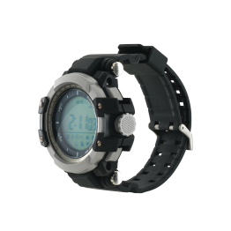 Smartwatch Canyon Military Style, 1.2 Inch, IP68, Negru Gri