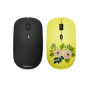 Mouse wireless Canyon Roses, 1600 DPI, 4 Butoane