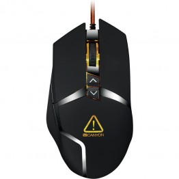 Mouse gaming Canyon Tantive , 4800 DPI , 7 Butoane , Negru