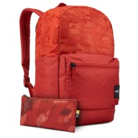 Rucsac laptop Case Logic Founder Red brick camuflaj