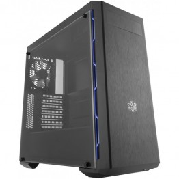 Carcasa desktop Cooler Master MasterBox MB600L , Middle Tower , Gaming , Panou lateral transparent