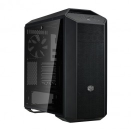 Carcasa desktop Cooler Master MasterCase MC500P , Middle Tower , Panou lateral transparent , Negru