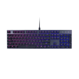 Tastatura gaming Cooler Master SK650, Mecanica, Cherry MX RGB Low Profile, Iluminare LED