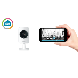 Camera supraveghere IP D-Link DCS-935LH , 720p , WiFi 802.11 a/b/g/n/ac , Senzor miscare si sunet , Alb
