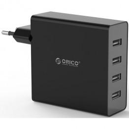 Incarcator retea USB Orico DCW-4U-EU Negru