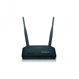 Router wireless D-Link Home Cloud , 300 Mbps , 802.11 n/g , Negru