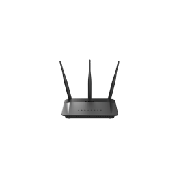Router wireless D-Link DIR-809 , AC750 , Dual Band , Negru