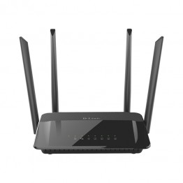 Router wireless D-Link DIR-842 , Dual Band , 1200 Mbps , Negru