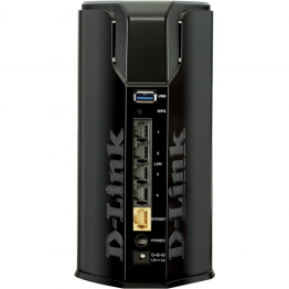 Router wireless D-Link DIR-860L , Dual Band , 1200 Mbps , 10/100/1000 Mbps , USB 3.0 , Negru