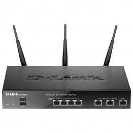 Router wireless D-Link DSR-1000AC , Gigabit , 1750 Mbps , USB 2.0 , Dual Band , Negru