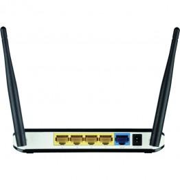 Router wireless D-Link DWR-116 , 4G LTE , 300 Mbps , 802.11 b/g/n , USB 2.0 , Negru