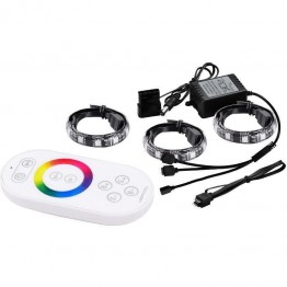 Kit iluminare LED DeepCool RGB , 2 Benzi LED , Telecomanda