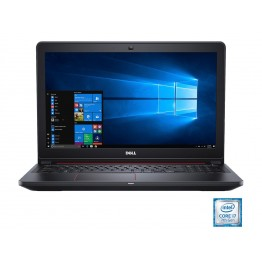 Laptop Dell Inspiron 5577 , 15.6 Inch Full HD , Intel Core I5-7300HQ , 8 GB DDR4 , 256 GB SSD , nVidia GeForce GTX1050 4 GB GDDR5 , Windows 10 Home , Negru