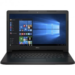 Laptop Dell Latitude 3470 14 Inch Intel Core I3-6100u 4 GB RAM 500 GB HDD Intel HD 520 Windows 10 Pro Negru