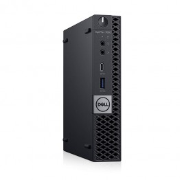 Sistem PC Dell OptiPlex 7060 MFF. Intel Core I5-8500T, 8 GB DDR4, 256 GB SSD, Intel UHD 630, Windows 10 Pro