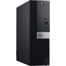 Sistem PC Dell OptiPlex 7060 SFF, Intel Core I7-8700, 8 GB DDR4, 256 GB SSD, Intel UHD 630, Windows 10 Pro