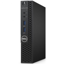 Desktop PC Dell Optiplex 3050 ,  Intel Core I3-7100T Kaby Lake ,  4 GB DDR4 , 500 GB HDD , Intel HD 630 , Windows 10 Pro