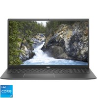 Laptop Dell Vostro 5502, 15.6 Inch FullHD, Intel Core I5-1135G7, 8 GB DDR4, 256 GB SSD, Intel Iris XE, Linux, Gray