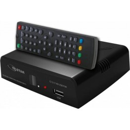 Receptor digital terestru E-Star DVB-T2/T Full HD 1080p