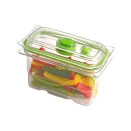Caserola vidare Food Saver Capacitate 0.473 Litri , Transparent