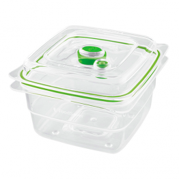 Caserola vidare Food Saver FFC005X , Capacitate 1.183 Litri , Fara BPA , Transparent