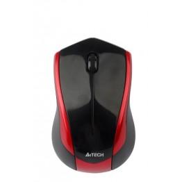 Mouse wireless A4Tech G7 G7-400N , V-Track , 2000 DPI , Negru/Rosu