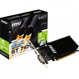 Placa video MSI nVidia GeForce GT 710 , 1 GB GDDR3 , 64 Bit BUS