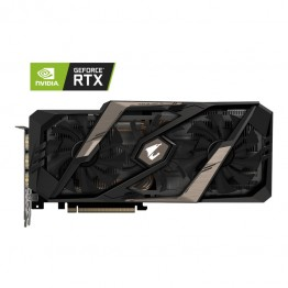 Placa video Gigabyte Aorus nVidia GeForce RTX 2080 Gaming OC , 8 GB GDDR6 , 256 Bit
