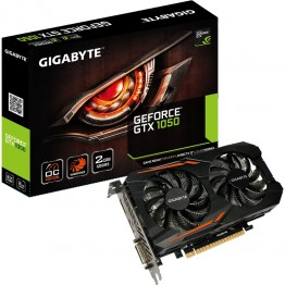 Placa video Gigabyte nVidia GeForce GTX 1050  , 2 GB GDDR5 , 128 Bit