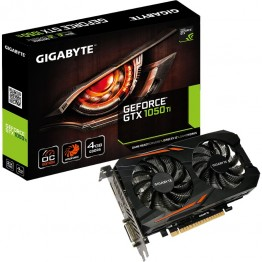Placa video Gigabyte nVidia GeForce GTX 1050 TI OC , 4 GB GDDR5 , 128 Bit
