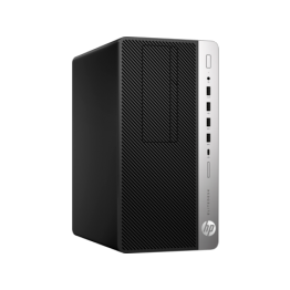 Sistem PC HP EliteDesk 705 G4 MT, AMD Ryzen 5 2400G, 8 GB DDR4, 256 GB SSD, AMD Radeon RX Vega 11, Windows 10 Pro