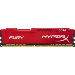 Memorie RAM Kingston HyperX Fury Red , DDR4 , 8 GB , 2400 Mhz