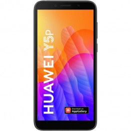 Smartphone Huawei Y5p, Dual Sim, 5.45 Inch HD, Helio P22 Octa Core, 2 GB RAM, 32 GB Flash, Retea 4G, Android 10, Midnight Black