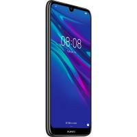 Smartphone Huawei Y6 2019, Dual Sim, 6.09 Inch, Quad Core, 2 GB RAM, 32 GB, Android Pie, Midnight Black