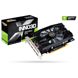 Placa video Inno3D nVidia GeForce GTX 1660 Compact, 6 GB GDDR5, 192 Bit