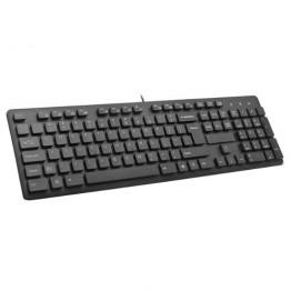 Tastatura multimedia DeLux KA150U USB Negru