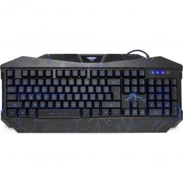 Tastatura gaming Newmen GL800 V2 , USB , Iluminare LED , Negru