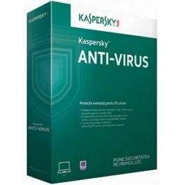 Program securitate Kaspersky Antivirus 2017 , 3 PC , 12 Luni , Licenta noua